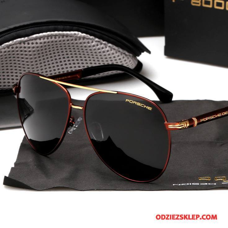 Męskie Okulary Przeciwsłoneczne Trendy Polaryzator Moda
