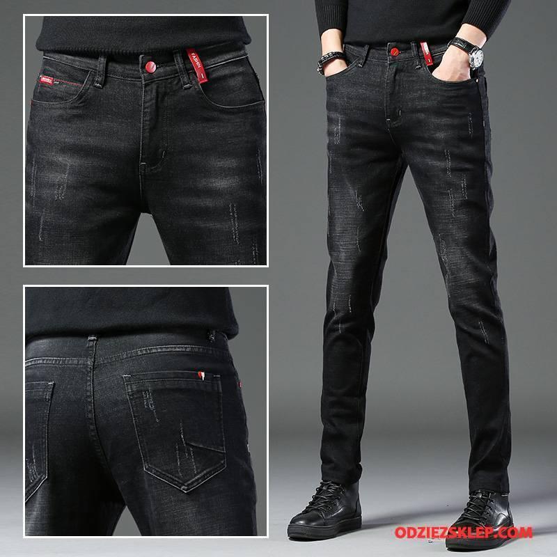 7c439168 Męskie Jeansy Spodnie Denim Tendencja Moda Dżinsy Nowy Niebieski Sprzedam
