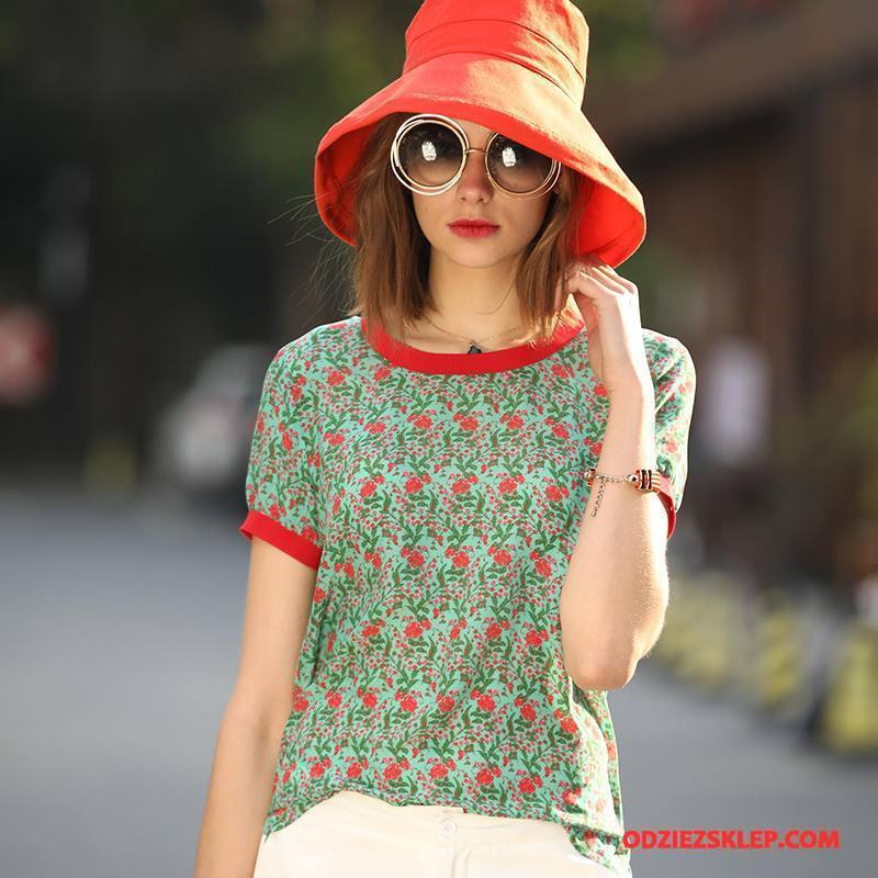 Damskie Jedwabna Sukienka Slim Fit Tendencja Cienkie Wiosna 2018 Art Zielony Sprzedam