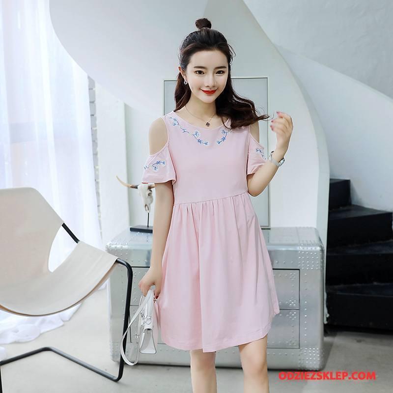 Damskie Odzież Ciążowa 2018 Proste Wiosna Casual Eleganckie Tendencja Różowy Sklep