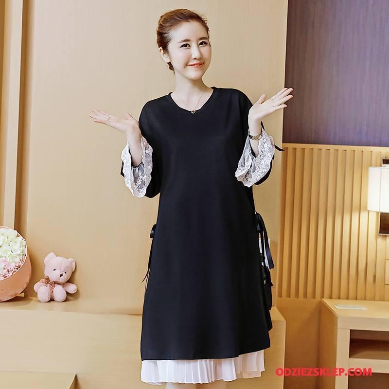Damskie Odzież Ciążowa Tendencja Moda Eleganckie 2018 Proste Jesień Czarny Sprzedam