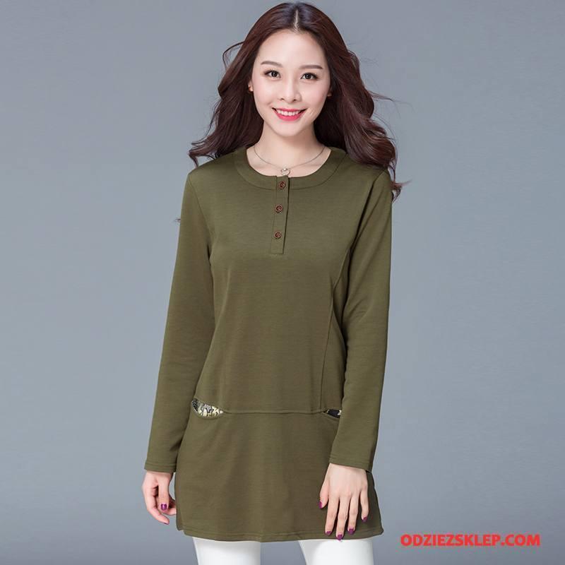 Damskie Odzież Duże Rozmiary Popularny Casual Slim Fit Moda Eleganckie Wiosna Czysta Zielony Sprzedam