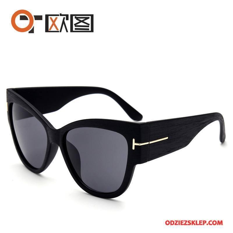 Damskie Okulary Przeciwsłoneczne Damska Moda Nowy Trendy Wielki Europa Czarny Sprzedam