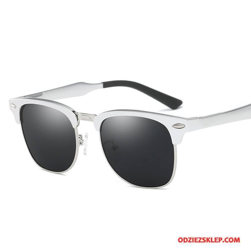Damskie Okulary Przeciwsłoneczne Dla Kierowców Polaryzator Aluminium Magnezu Wędkarstwo Outdoor Sportowe Srebrny Oferta