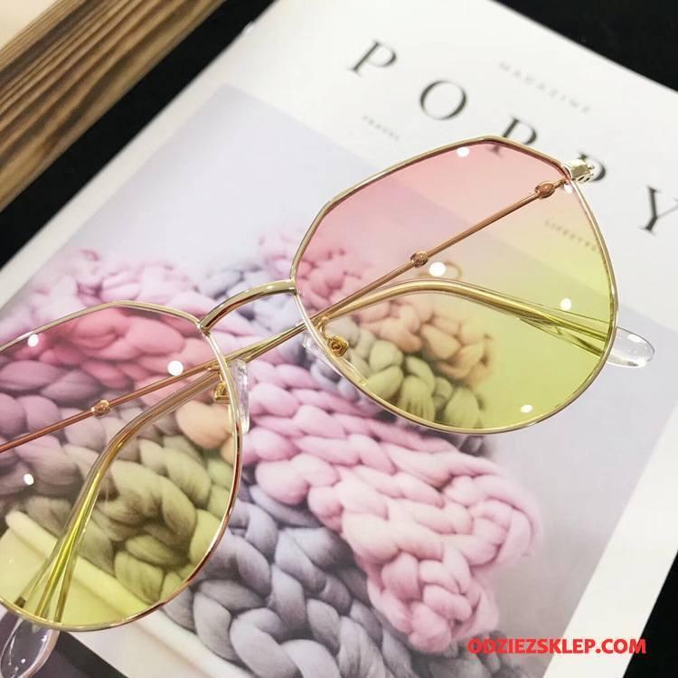 Damskie Okulary Przeciwsłoneczne Nieregularny Kwadratowy Damska Moda Europa Trendy Czerwony Dyskont