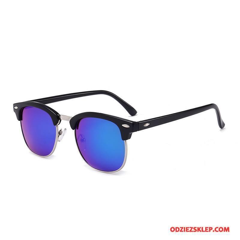 Damskie Okulary Przeciwsłoneczne Outdoor Damska Vintage Jazdy Męska Klasyczny Beżowy Niebieski Tanie