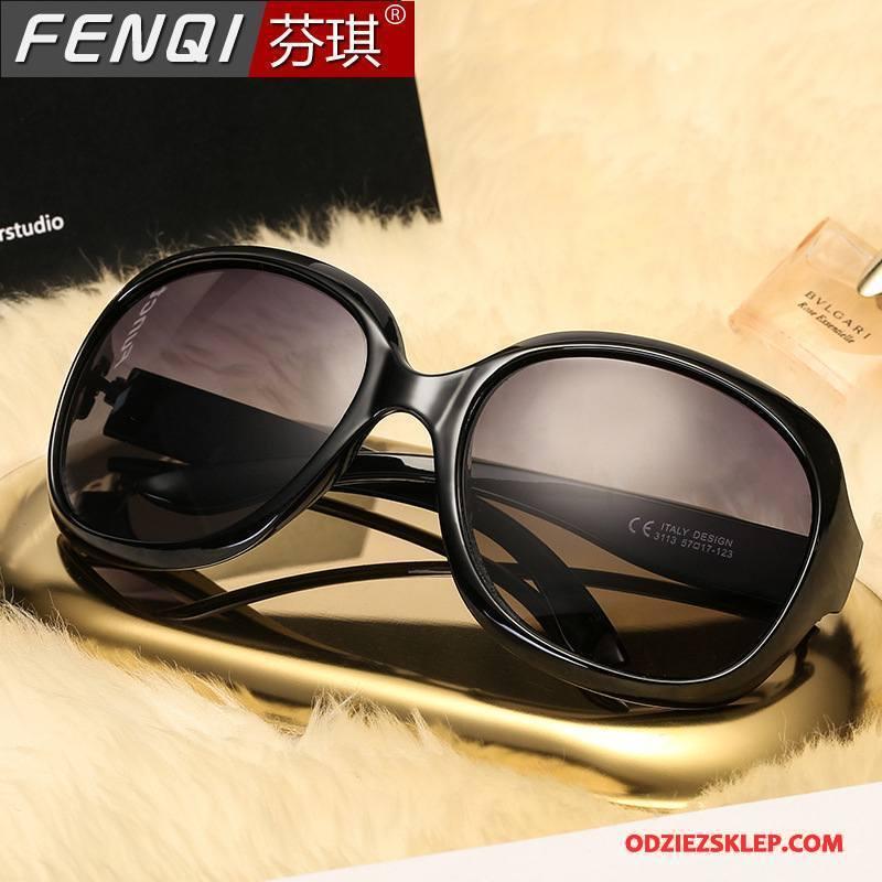 Damskie Okulary Przeciwsłoneczne Trendy Polaryzator Damska Moda Wielki Wszystko Pasuje Czarny Sprzedam