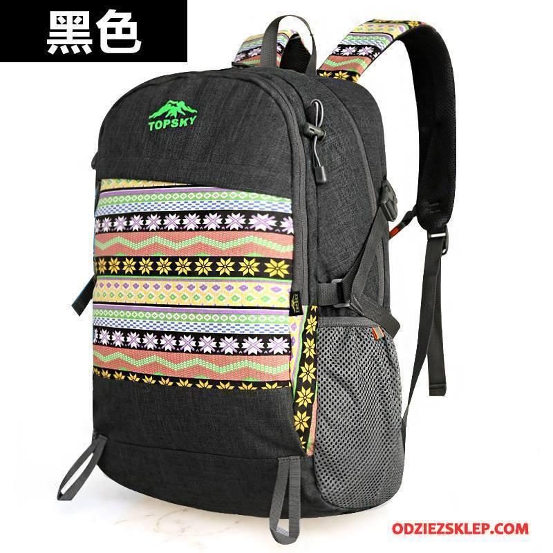 Damskie Plecak Podróżny Casual Damska Outdoor Torba Turystyczna Moda Etniczny Mieszane Kolory Czarny Kup