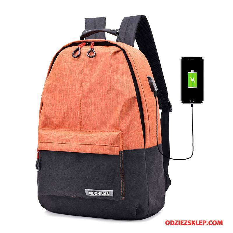 ab1c7e23066a5 Damskie Plecak Podróżny Nowy Męska Outdoor Damska Trendy Tornister Szkolny  Mieszane Kolory Oranż Żółty Online