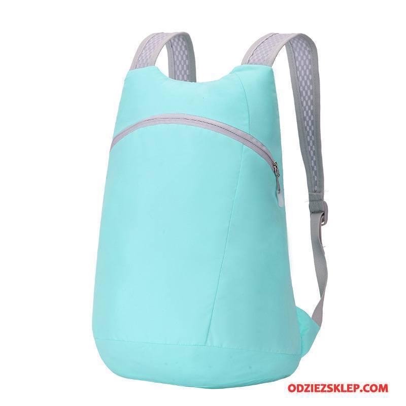 Damskie Plecak Podróżny Torba Turystyczna Casual Składać Outdoor Nylon Nowy Niebieski Kup