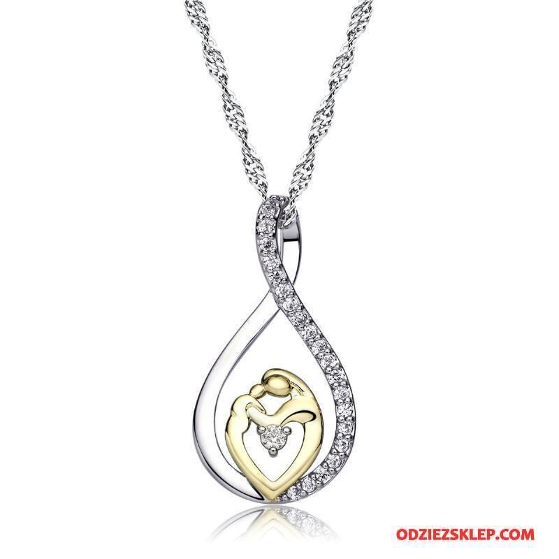 Damskie Srebrna Biżuteria Bicolored Prezent Matka Srebrny Sprzedam