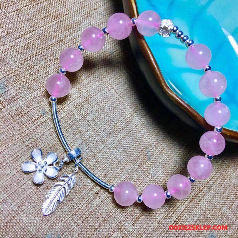 Damskie Srebrna Biżuteria Damska Bransoletki Wielki Kryształ Srebrny Proszek Tanie