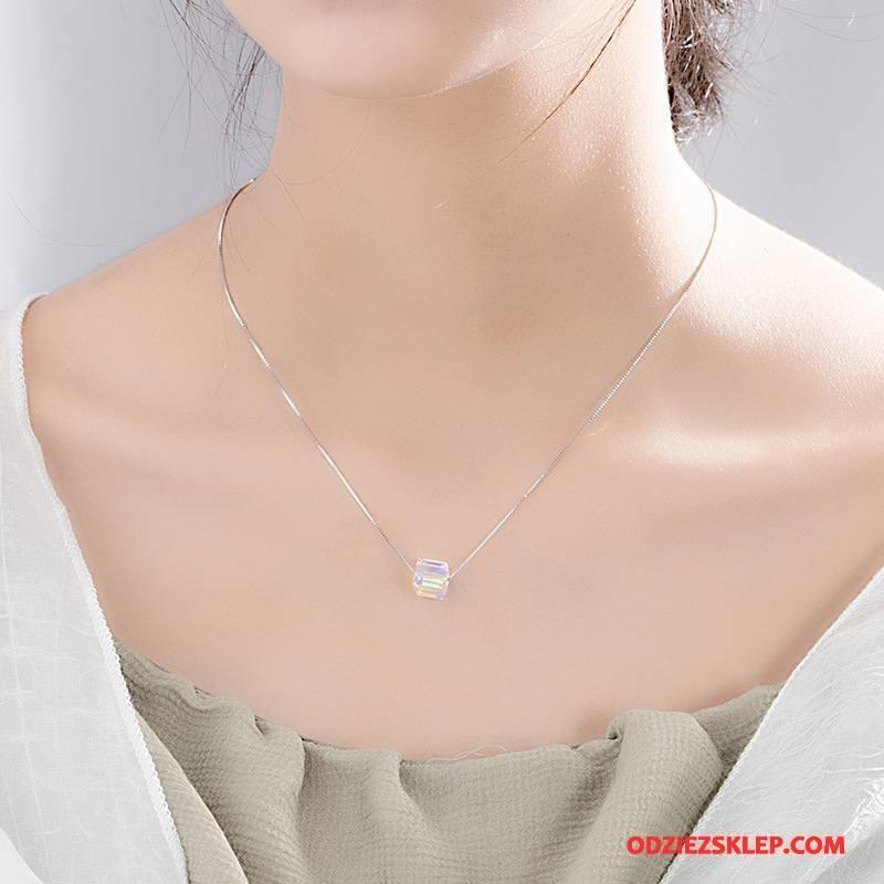 Damskie Srebrna Biżuteria Nowy Pure Prosty Wisiorek Moda Akcesoria Srebrny Tanie
