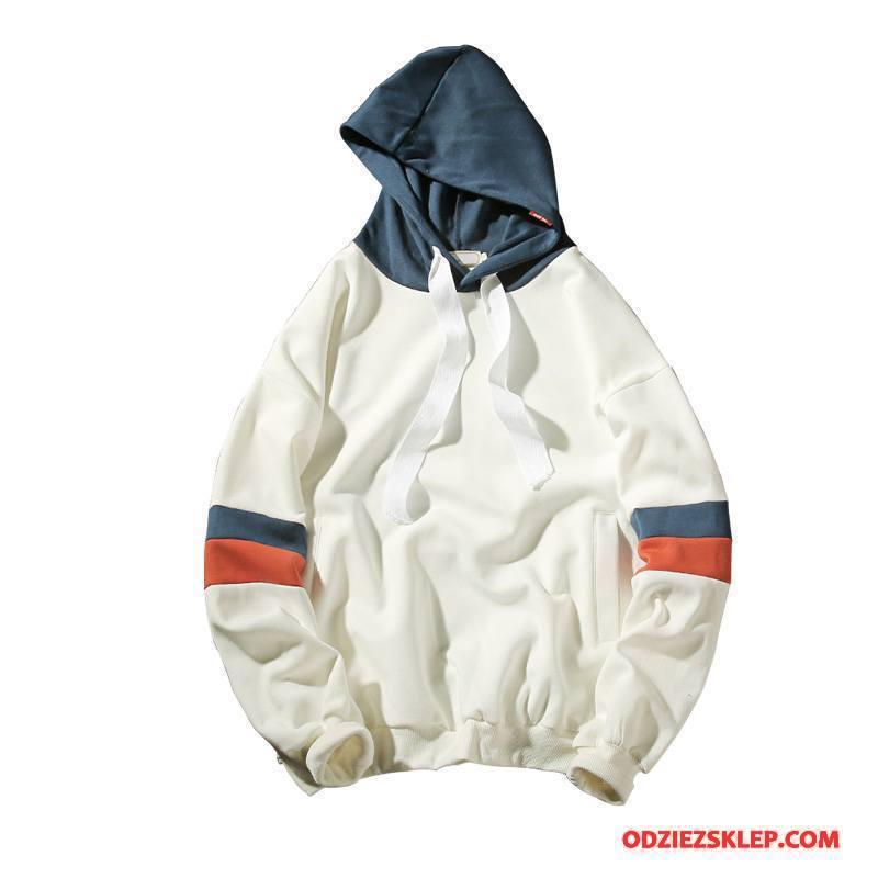 Męskie Bluza Z Kapturem Bluzy Z Kapturem Nowy Męska Bawełniane Biały Sprzedam