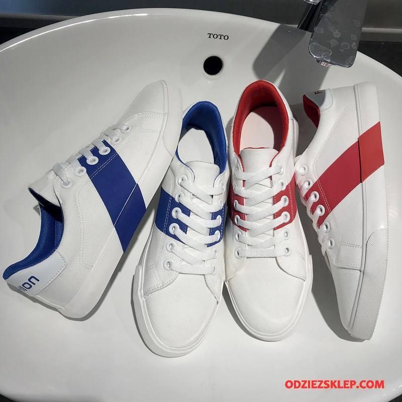 Męskie Buty Casualowe Buty Na Deskorolke Wszystko Pasuje Męska Osobowość Moda Sportowe Biały Kup