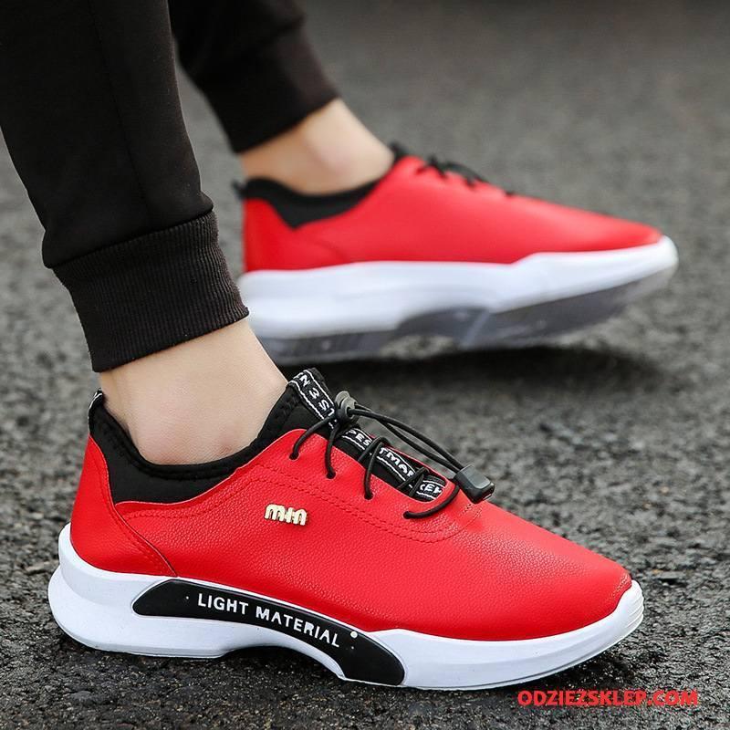 Męskie Buty Sportowe Tendencja Młodzież Wiosna Buty Do Biegania Męska Casual Czerwony Sklep