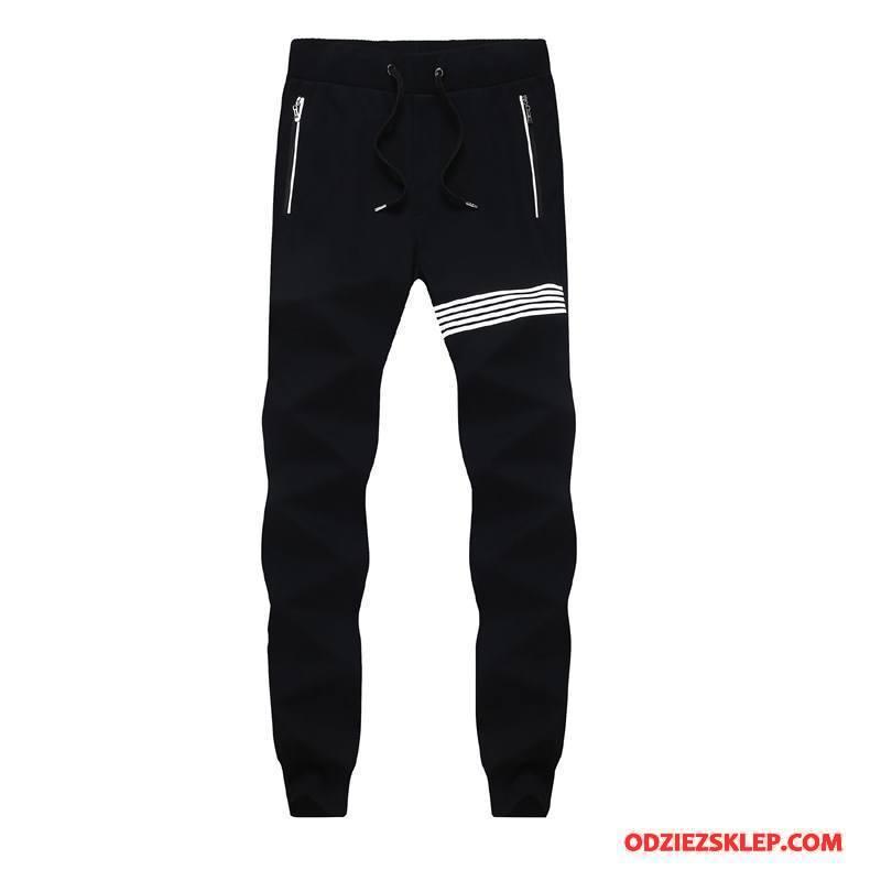 Męskie Casualowe Spodnie Jesień Męska Wiosna Slim Fit Ołówkowe Spodnie Tendencja Czarny Sprzedam