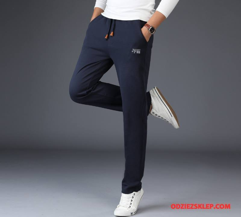 Męskie Casualowe Spodnie Nowy Czarny Sklep