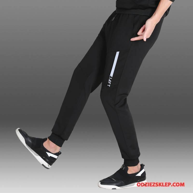 Męskie Casualowe Spodnie Slim Fit Harlan Męska Spodnie Dresowe Tendencja Nowy Czarny Kupię