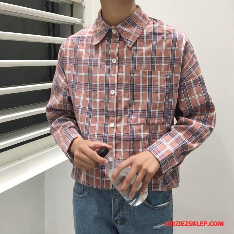 Męskie Koszula Młodzież 2018 Art Topy Męska Długi Rękaw Proszek Online