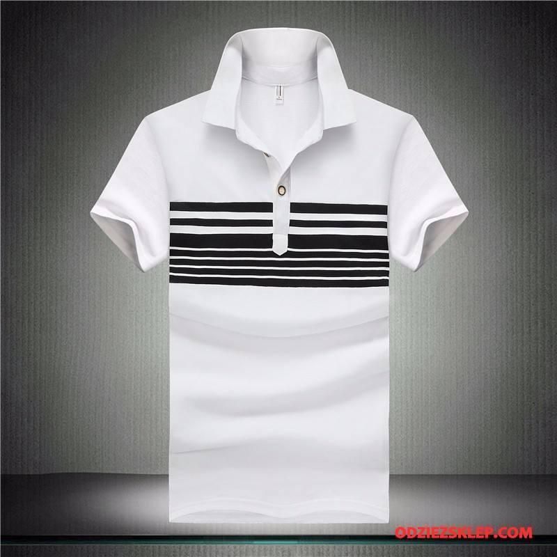 Męskie Koszulka Polo Nowy Biały Kup