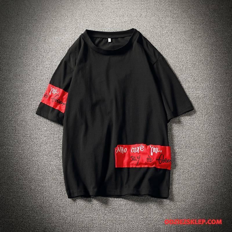 Męskie Koszulki Nowy Bawełniane Męska Sweter Szary Czarny Na Sprzedaż