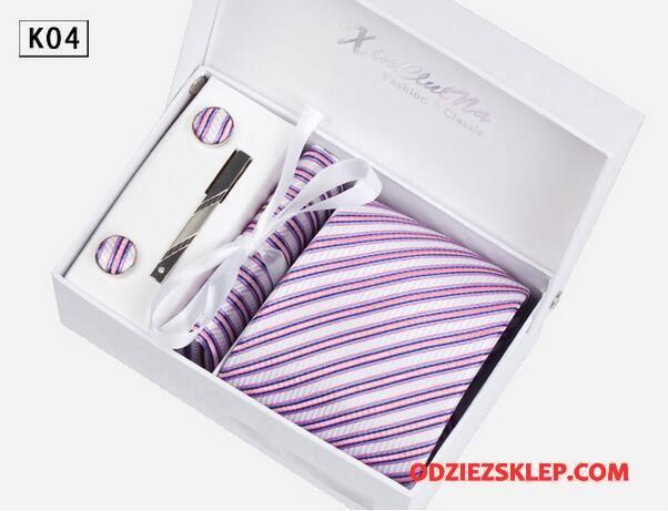 Męskie Krawat Biznes Męska Wysoki Koniec Sukienka Pan Młody Wodoodporny Beżowy Fioletowy Sprzedam