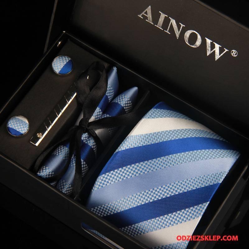 Męskie Krawat Biznes Pudełko Na Prezenty Męska Casual Wysoki Koniec Grupa Niebieski Sklep
