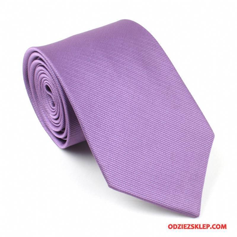Męskie Krawat Dobrze Kwiaty Jedwab Męska Sukienka Czysta Fioletowy Tanie