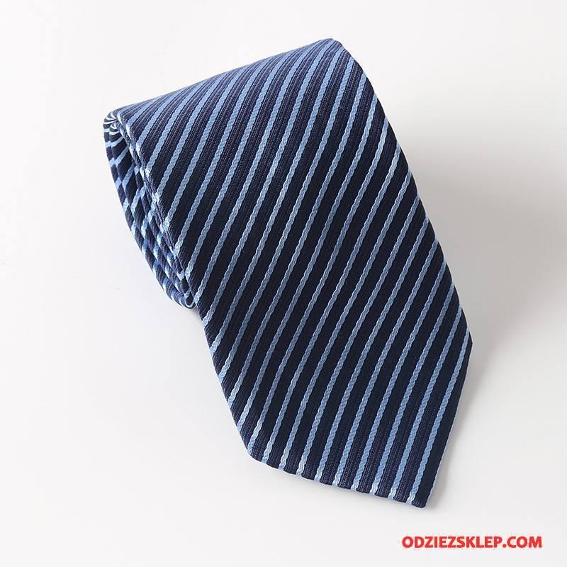 Męskie Krawat Koszula Moda Jesień 2018 Męska Wysoki Koniec Niebieski Biały Tanie