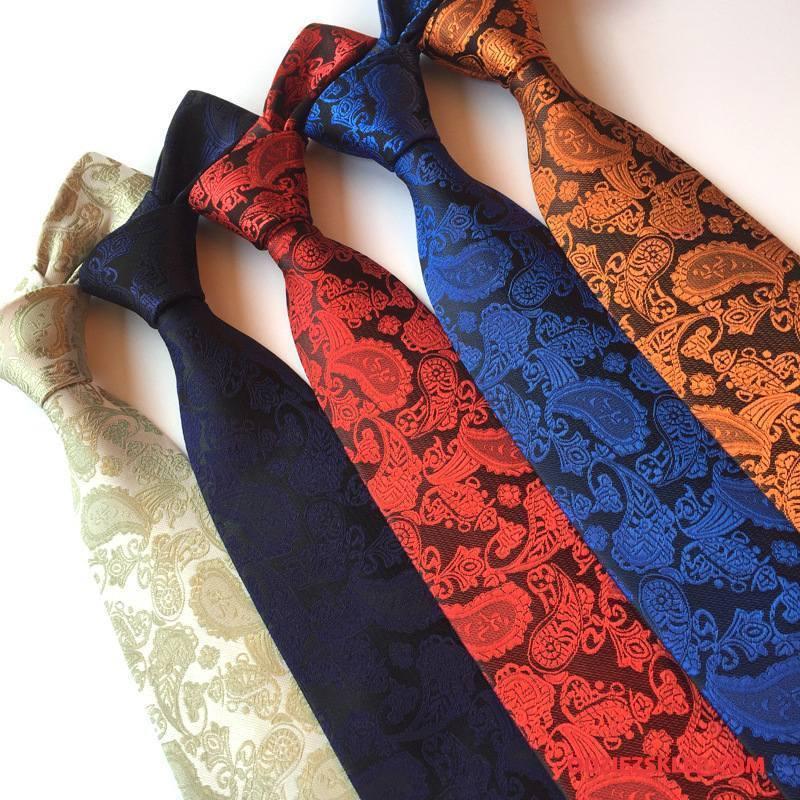 Męskie Krawat Kwiaty Męska Klasyczny Niebieski Sprzedam