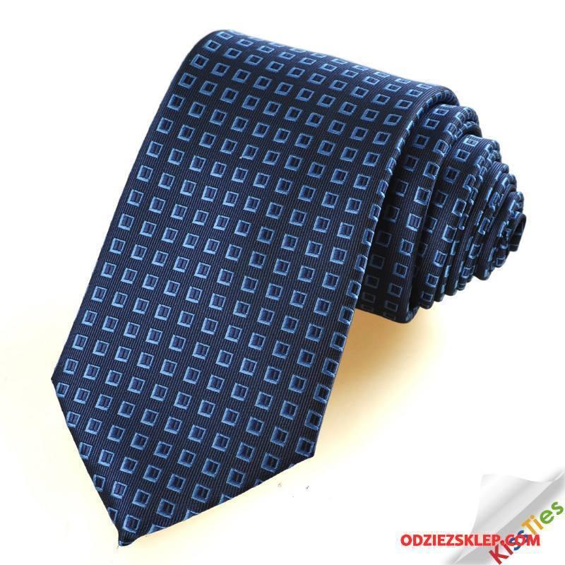 Męskie Krawat Męska Biznes Groomsmen Ślubna Niebieski Sprzedam