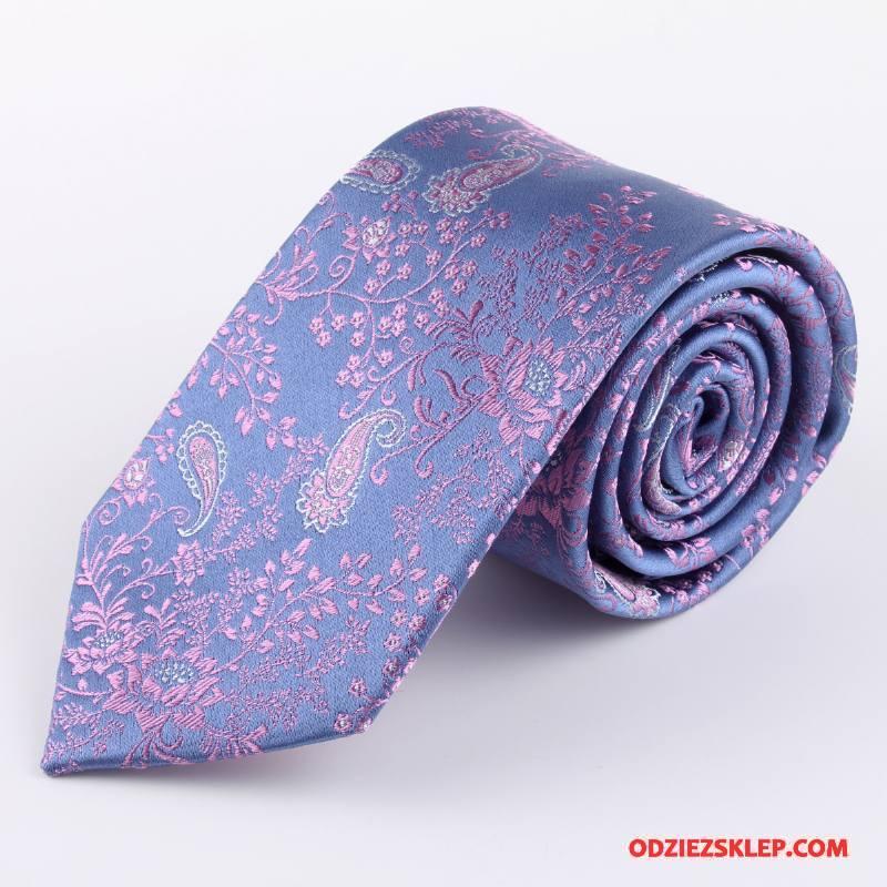 Męskie Krawat Pan Młody Sukienka Biznes Jedwab 2018 Męska Niebieski Kupię