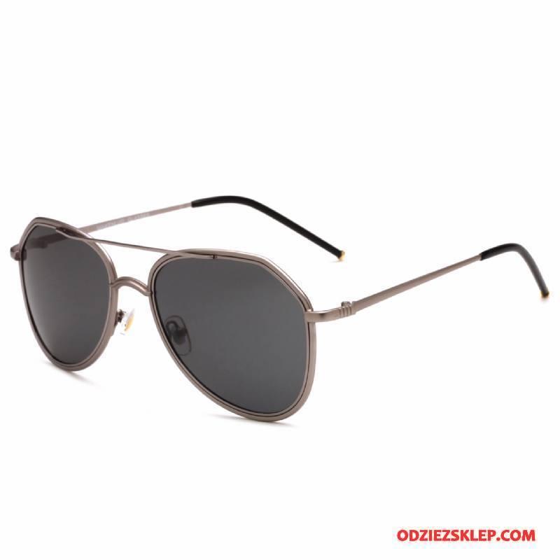 Męskie Okulary Przeciwsłoneczne Dla Kierowców Polaryzator Bicolored Nowy Męska 2018 Brązowy Sklep