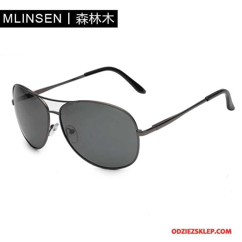 Męskie Okulary Przeciwsłoneczne Męska Wędkarstwo Wielki Ropucha Elastyczny Dla Kierowców Szary Na Sprzedaż