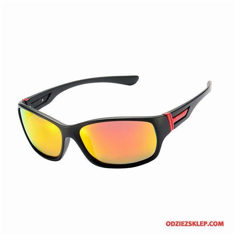 Męskie Okulary Przeciwsłoneczne Nowy Jazdy Siatkowe Europa Klasyczny Sportowe Czarny Czerwony Oferta