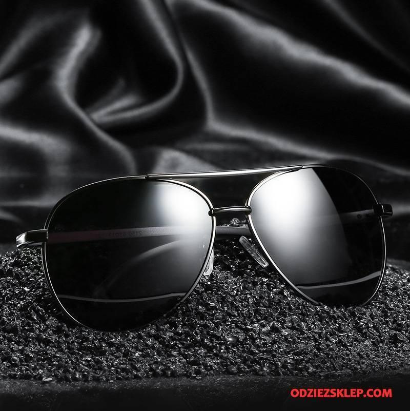 Męskie Okulary Przeciwsłoneczne Nowy Klasyczny Dla Kierowców Polaryzator Męska Kolorowe Czarny Dyskont