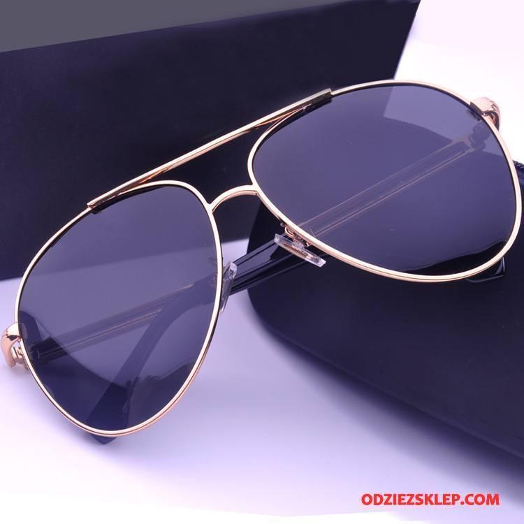 Męskie Okulary Przeciwsłoneczne Polaryzator Wielki Męska Wysoka Jakość Niebieski Fioletowy Sklep