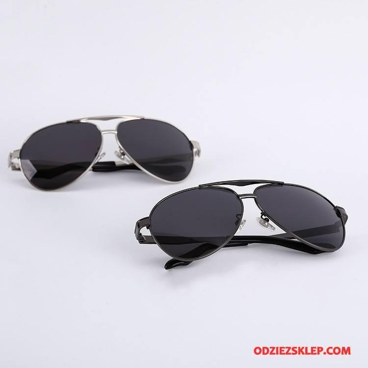 Męskie Okulary Przeciwsłoneczne Ropucha Dla Kierowców Polaryzator Męska Niebieski Złoty Czarny Sklep