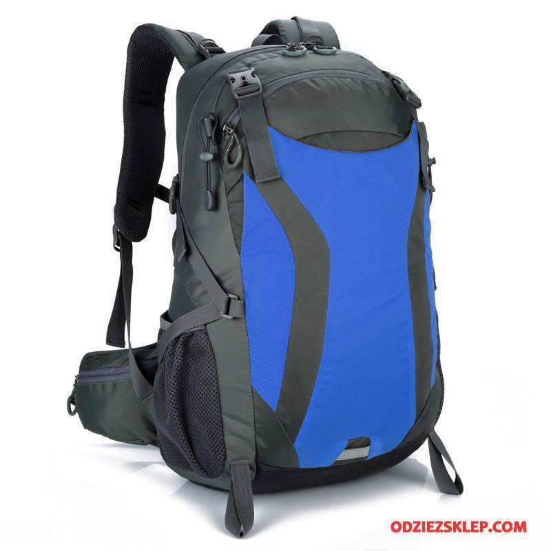 Męskie Plecak Podróżny Damska Męska Torba Turystyczna Outdoor Niebieski Sprzedam