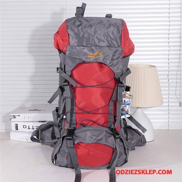 Męskie Plecak Podróżny Outdoor Sportowe Torba Turystyczna Do Chodzenia Specjalne Czerwony Sklep