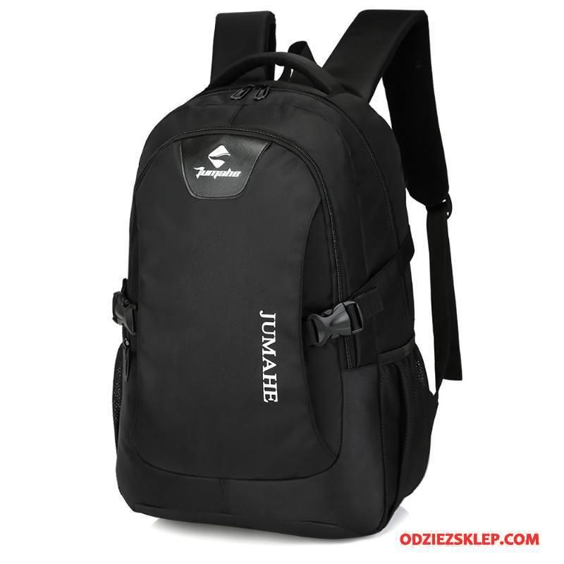 Męskie Plecak Podróżny Płótno Trekkingowa Oxford Student Sportowe Outdoor Czarny Sprzedam