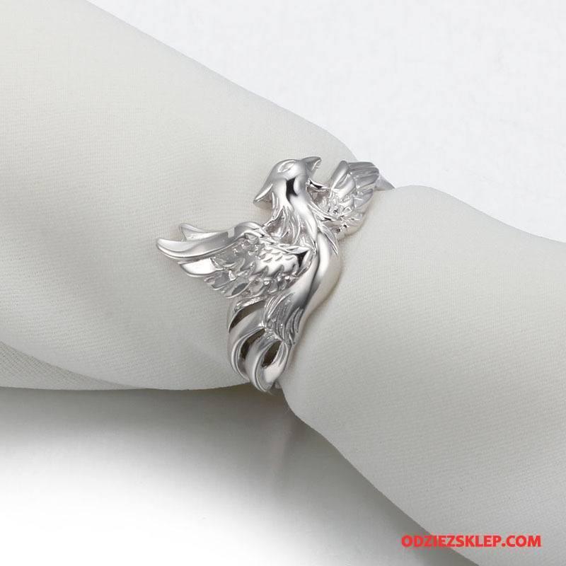 Męskie Srebrna Biżuteria Średni Pure Męska Vintage Akcesoria Srebrny Biały Sklep