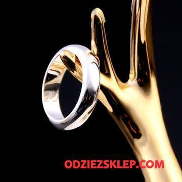 Męskie Srebrna Biżuteria Męska Damska Moda Akcesoria Zakochani Osobowość Srebrny Sprzedam