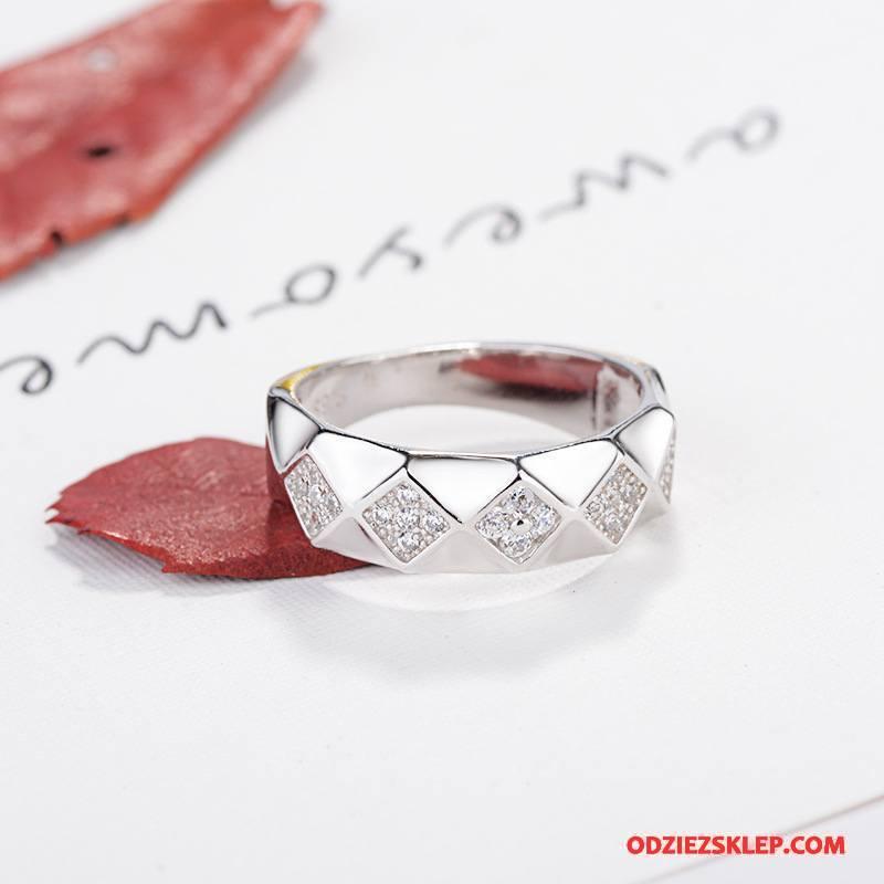 Męskie Srebrna Biżuteria Prosty Moda Męska Prezent Pure Akcesoria Srebrny Sprzedam