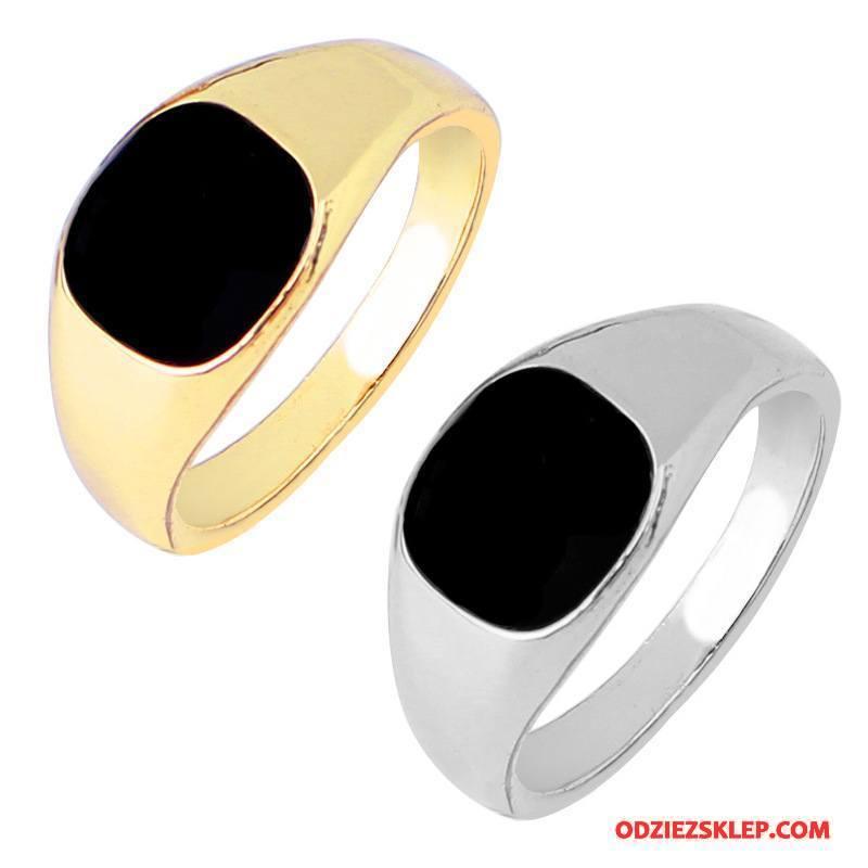 Męskie Srebrna Biżuteria Twórczy Akcesoria Męska Europa Złoty Srebrny Tanie