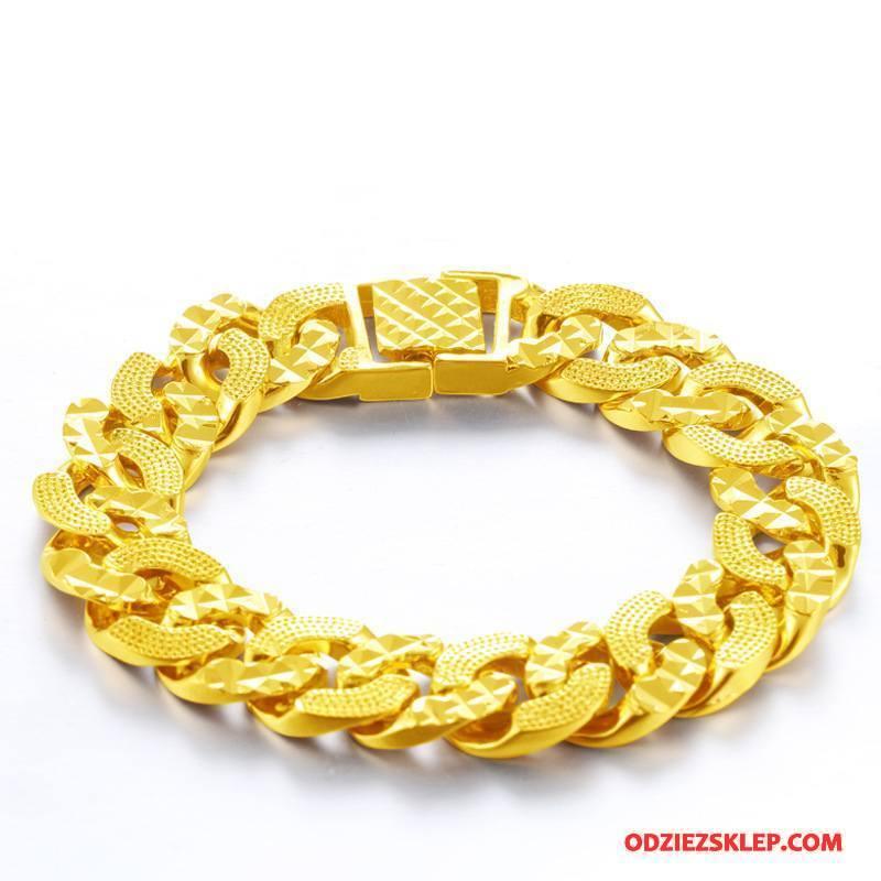 Męskie Srebrna Biżuteria Wielki Bransoletki Osobowość Męska Twórczy Akcesoria Złoty Tanie