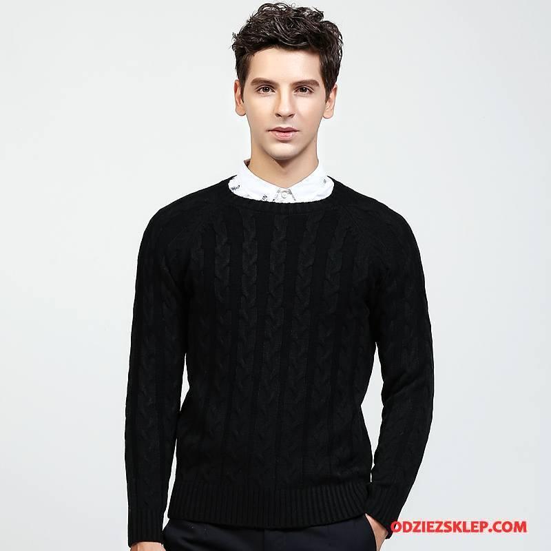 Męskie Swetry Sweter Rozpinany Nowy 2018 Czarny Sprzedam